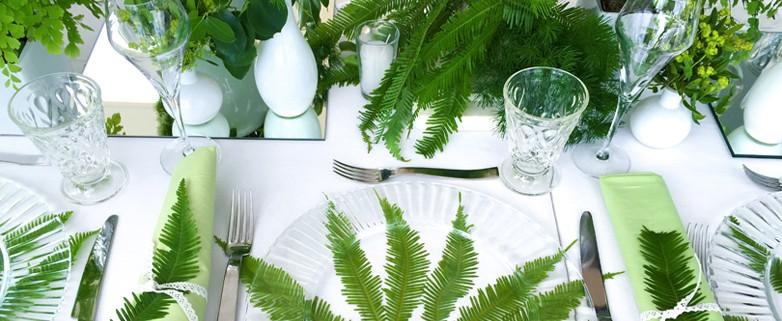 Decoración de mesas Cardamomo Catering