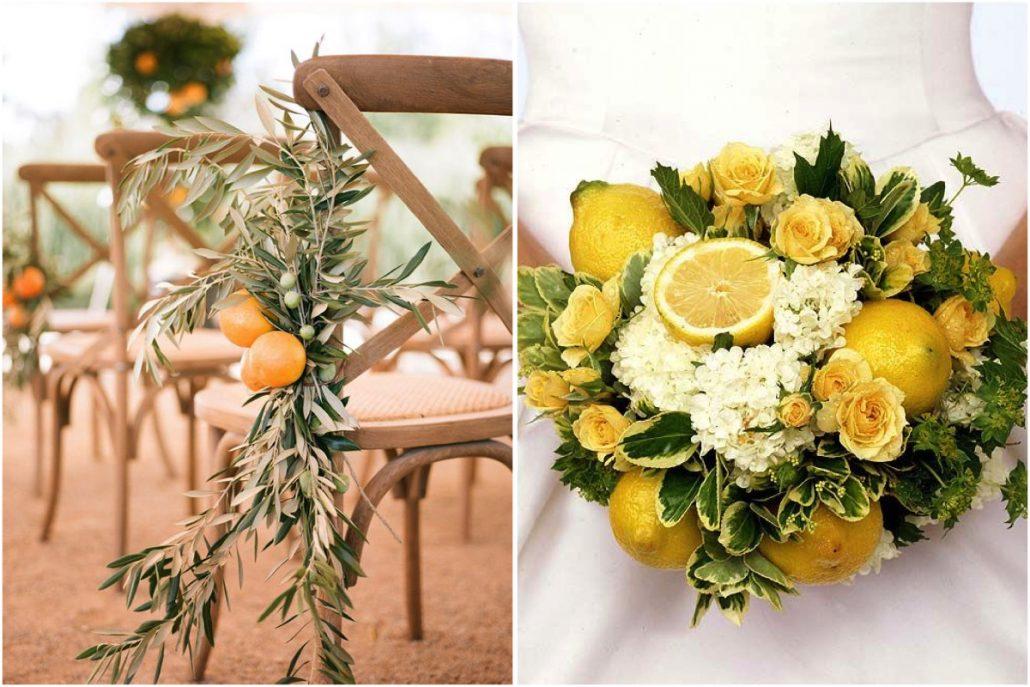 limones para tu boda