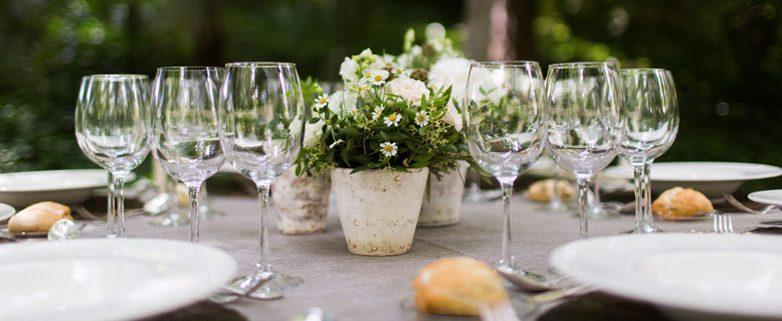 Decoración de mesas de boda